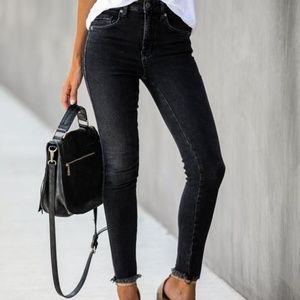 Free People Kenny High Rise Skinny Jeans